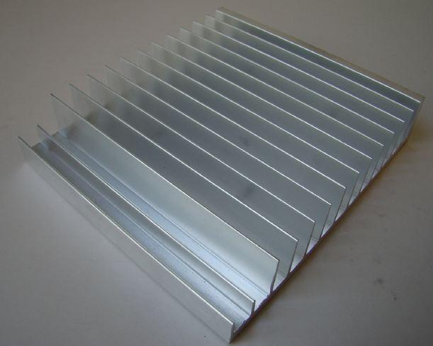 HeatSink Test – Extruded Aluminium versus Aluminium Plate