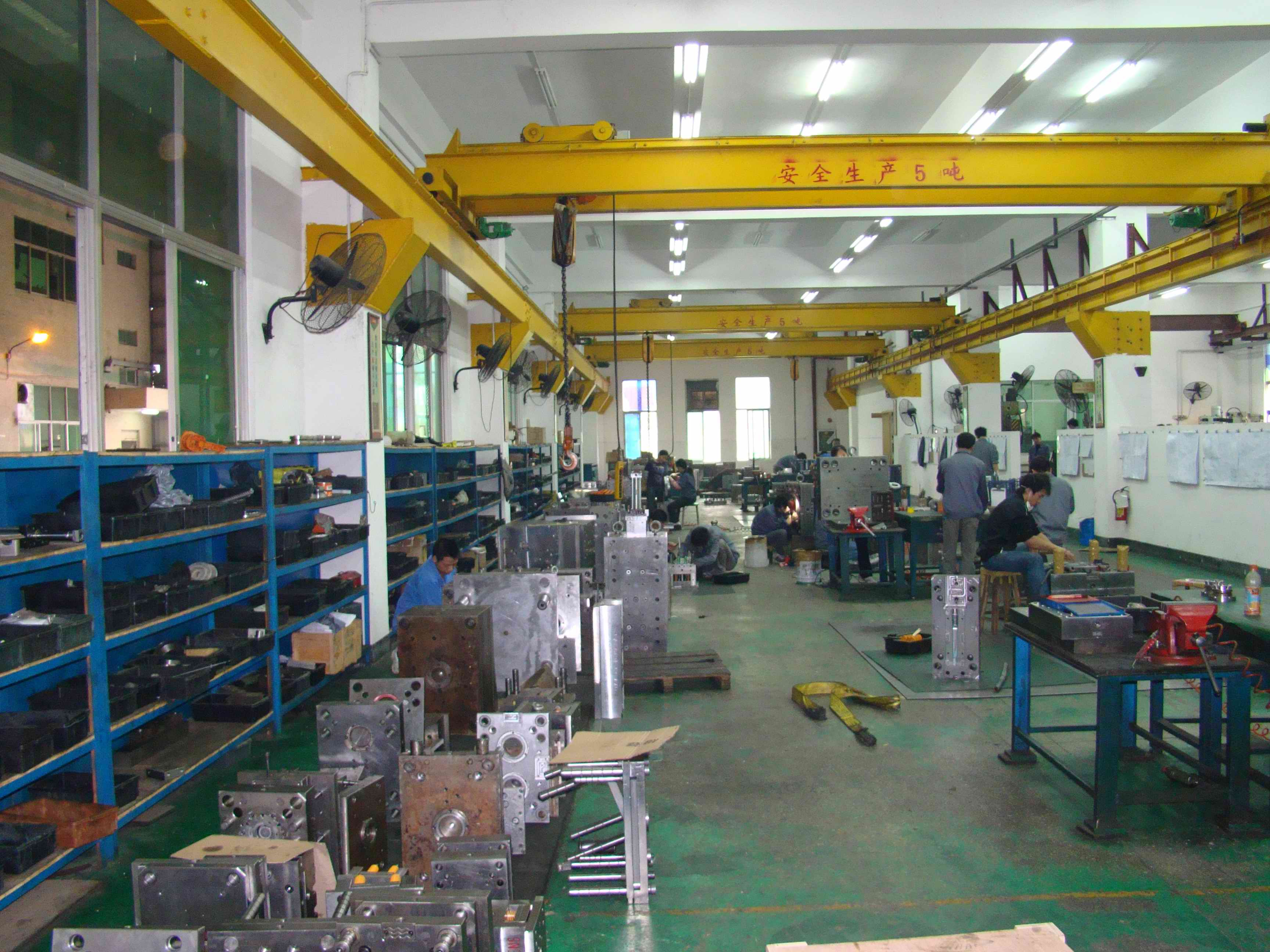 injection moulding die china